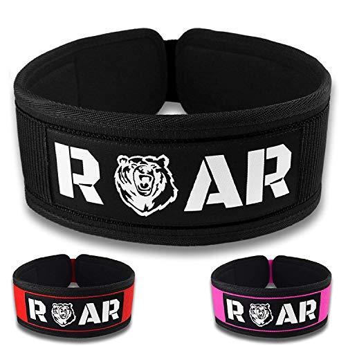 Roar® Cinturón Lumbar Gimnasio,...
