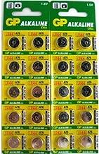 3 X GP A76 LR44 AG13 Alkaline Cell 1.5V Alkaline Button Cell Battery x (20) Batteries