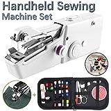 TooFu Hand-held Portable Electric Sewing Machine Set, Mini Household...