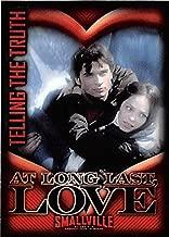 Lana Lang and Clark Kent in love trading card Smallville #30 Kristin Kreuk Tom Welling Superman