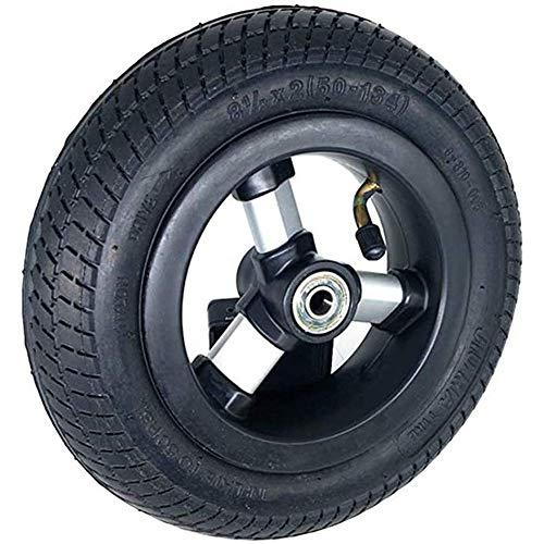 YLLN Neumático de Goma Maciza, Resistentes y duraderos, Ruedas Completas inflables de 8 1/2X2, adecuados para Triciclo para niños de 8.5 Pulgadas 50-134, Accesorios para Llantas de Cochecito d