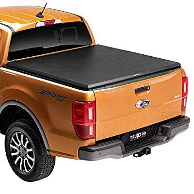TruXedo TruXport Soft Roll Up Truck Bed Tonneau Cover | 257001 | fits 16-20 Toyota Tacoma 6' bed