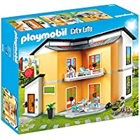 PLAYMOBIL City Life Casa Moderna, con Efectos de Luces y Sonido, a Partir de 4 Años (9266)