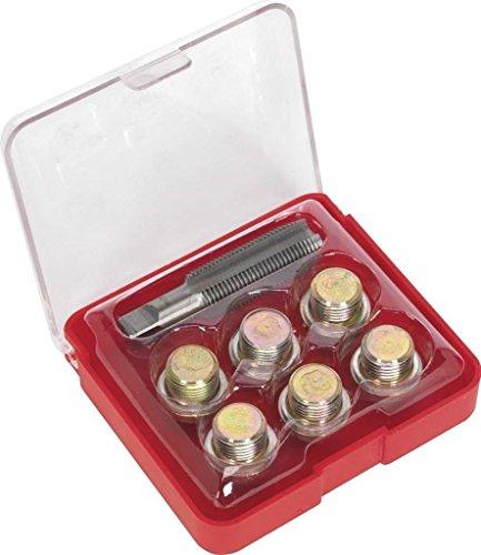 SPTTOOLS Kit d'outils de réparation de filetage de bouchon de vidange M20 x 1,5 mm
