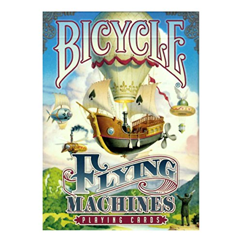 Bicycle Flying Machines Playing Car…