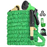 Expandable Garden Hose 100ft, with 3750D Fabric...