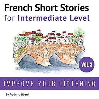 French Short Stories for Intermediate Level cover art