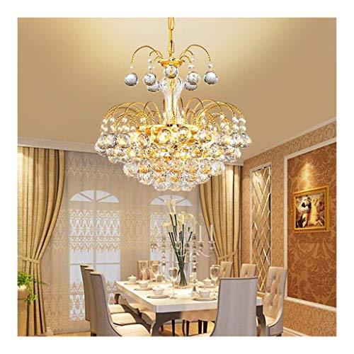 WEM Candelabros novedosos, candelabro de cristal, candelabro de cristal LED moderno simple, adecuado para lámparas de dormitorio de sala de estar, candelabros novedosos decorativos, luz colgante