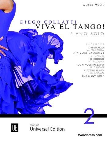 Klassieke noten UNIVERSAL Edition COLLATTI D.M. Viva EL TANGO VOL.2 – piano