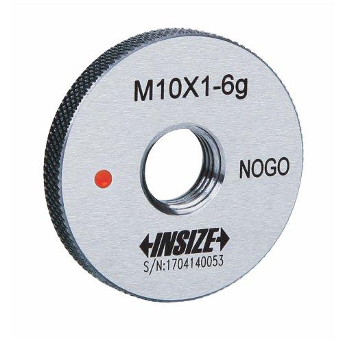 INSIZE 4129-52TN - Calibre de anillo de rosca fina (clase 6 g, NOGO, ISO1502, M52 x 2 mm)