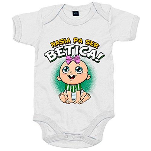 Body bebé nacida para ser Bética Betis fútbol - Verde, 12-18 meses