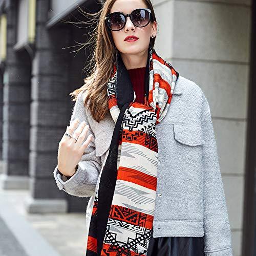 Ztweijin Vierkante Hoofd Sjaals Vrouwen Elegante Dame Warm Sjaal Lange Print Stoles Bandana Sjaal Hijab Beach Deken