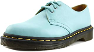 Dr. Martens 1461 3-Eye Oxford Shoe (4 UK / 6 B(M) Womens US, Aqua)