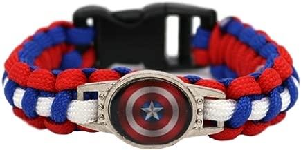 superhero paracord bracelet