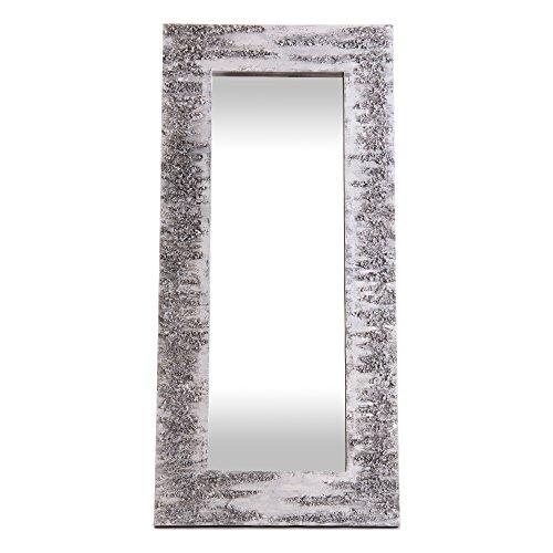 Lohoart L-1261-1 - Espejo Sobre Lienzo Pintado Artesanal