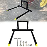 3 Point Pallet Fork Attachment, AAIWA Adjustable Hitch Pallet Fork Attachment 1500lbs Capacity for...