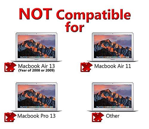 BRTONG Laptop Akku für MacBook Air 13 Zoll A1377 A1466 A1405, auch passend für A1369 A1496-12 Monate Garantie [Li-Polymer 7.6V 55Wh]