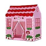 Los Niños Juegan Carpa Niños Jardín Pink Play Tienda Princesa Castillo Regalo Playa Tienda Camping Toy Tienda para Niños (Color : Pink, Size : 100×60×109 cm)
