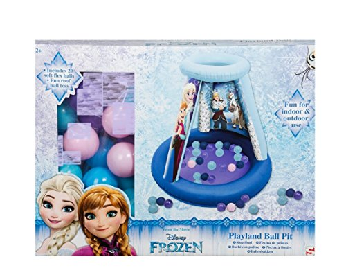 Bavaria Home Style Collection Bällebad für Kleinkinder - kompatibel mit Frozen - ELSA - Die Eiskönigin