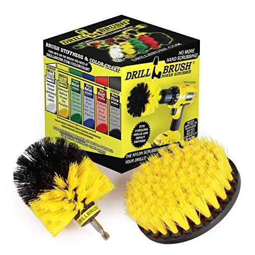 Bathroom Accessories - Cleaning Supplies - Drill Brush - Tile - Grout Cleaner - Bathtub - Bath Mat - Shower Cleaner - Shower Door - Carpet Cleaner - Sink - Shower Mat - Bathroom Rugs - Flooring