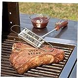 Herramienta Iron BBQ Grill Steak Burger Meat Branding con 55 Herramienta De Accesorios De Cartas...