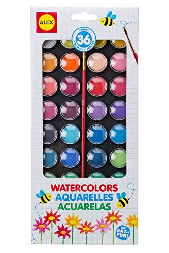 Alex Artist Studio 36 Watercolor Paints Kids Art Supplies