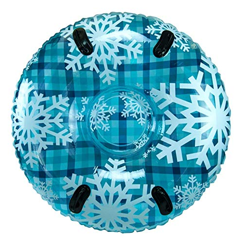 PIPELINE SNO Blue Hot Plaid Inflatable 2 Person...