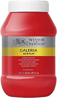 Winsor & Newton Tinta Acrílica Galeria W&N 1 Litro 095 Cadmium Red Hue