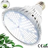 MILYN LED Grow Light Bulb 100W Daylight Full Spectrum Plant Growth Lamp 150 LEDs Plant Lights, E27 Grow Lights...
