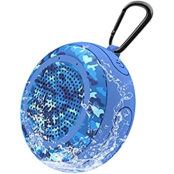Pool Floating Bluetooth Speaker Waterproof 5W Stereo Outdoor Bluetooth Speakers Portable Mini Speakers Wireless with Mic/TF Card/TWS for Mountaineering Cycling Swimming Running Shower