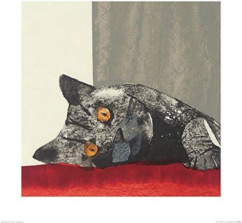 Art Group The Julia Burns Paws safety -Art Mu Paper x 60 Print 60cm Super sale period limited