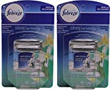 Febreze Set and Refresh Sleep Serenity Air Freshener for Bedside Diffuser, Quiet Jasmine, .36 Ounce, 2 Count (Pack of 2)