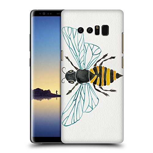 Head Case Designs Oficial Cat Coquillette Una Abeja Insectos 2 Carcasa rígida Compatible con Samsung Galaxy Note8 / Note 8