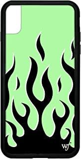 Wildflower Limited Edition iPhone Case for iPhone Xs Max (Neon Flames)