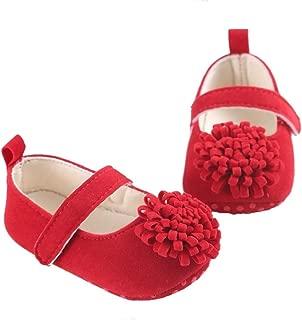 FemmeStopper Baby Girl Flower Born Infant Baby Girls Shoes First Walker Shoes