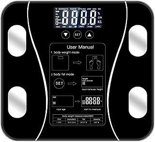 Básculas de peso Body Fat Scale Floor Scientific Smart Electronic Led Digital Peso Balance de baño Aplicación Bluetooth Android o Ios