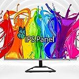 Sceptre IPS 24' LED Monitor 75Hz HDMI VGA 350 Lux, Edgeless Black 2021 (E248W-FPRK)