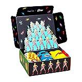 Happy Socks Calcetines Bowie Gift Set 3-Pack Gift Box Coloridas y Alegres para Hombre y Mujer - Algodón- talla 41-46