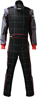 jxhracing RB-CR002 One-piece One Layer Auto Go Karts Racing Suit-Medium