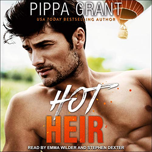 Hot Heir audiobook cover art