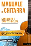 Manuale di Chitarra: Impara a suonare la chitarra in modo facile e veloce con i principali accordi e tablature - Canzoniere e spartiti inclusi (Nozioni essenziali per musicisti Vol. 2)