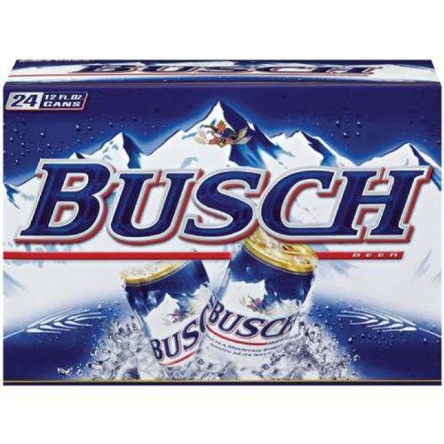 Busch 12oz (355mL can) - 24pack
