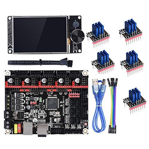 BIGTREETECH Direct SKR V1.3 32Bit Mother Board + TFT35 V3.0 Touch Screen + 5pcs TMC2208 UART Mode for DIY 3D Printer