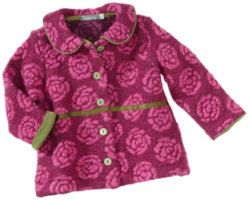 Lana Jacq. 92 1001 1461 Veste pour bébé Fille - Rose - 86 cm/92 cm