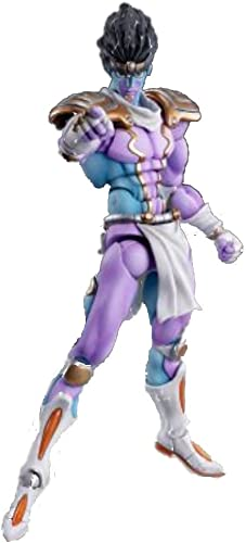 Super Figure Action [JoJo`s Bizarre Adventure] Part IV 28.Star Platinum (Hirohiko Araki Specify Farbe) (PVC Figure)