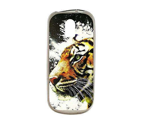 Oujietong Custodia per Nokia 130 nokia130 Custodia TPU Soft Case Cover LH