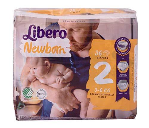 Libero - Pannolini Bebè Newborn 2 (3-6 kg)