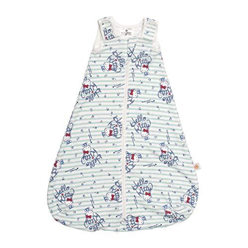 Ergobaby Babyschlafsack Sommer Neugeboren 56-62 Baumwolle, Sommerschlafsack Baby Schlafsack 0-6 Monate 0.5 TOG, Hello Kitty Sail Away