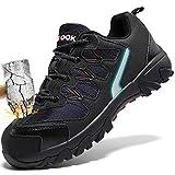 Zapatos de Seguridad para Hombre con Puntera de Acero Zapatillas de Seguridad...