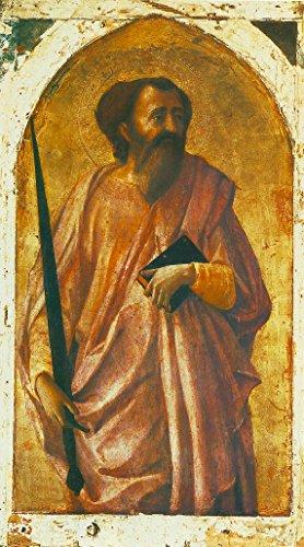 "St Paul by Masaccio - 16"" x 27"" Premium Canvas Print"